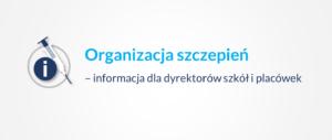 Organizacja szczepień